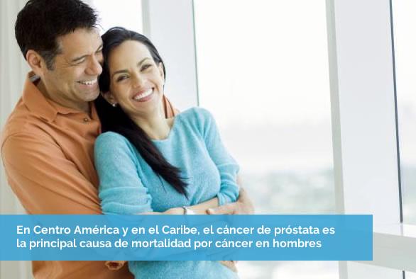 mayor riesgo de cáncer de próstata caucásico