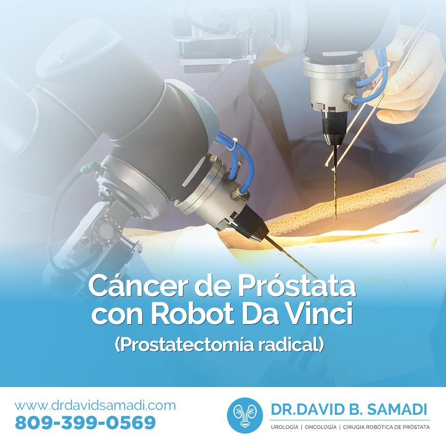 resultados de la cirugía robótica de próstata